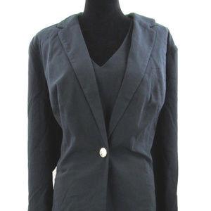 Roaman's Black Sheath Dress Suit  Plus Size 22W